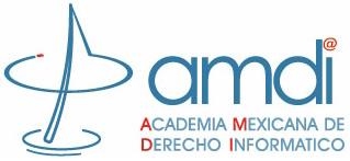 Logo de la Academia Mexicana de Derecho Informático, A.C.